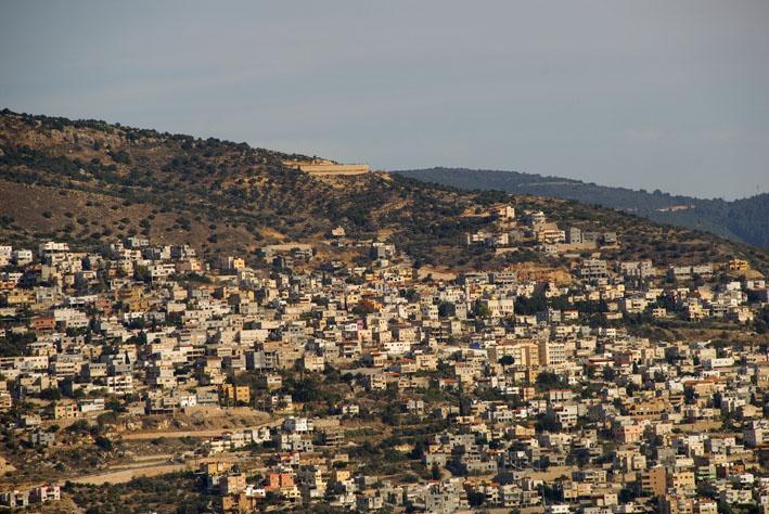 druze village, galilee