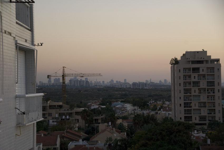 Tel Aviv/Jaffa - view from Herzliya
