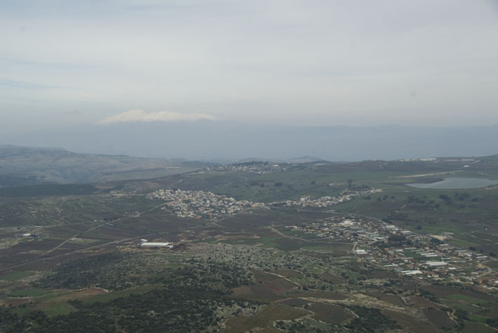 view from mt. meron