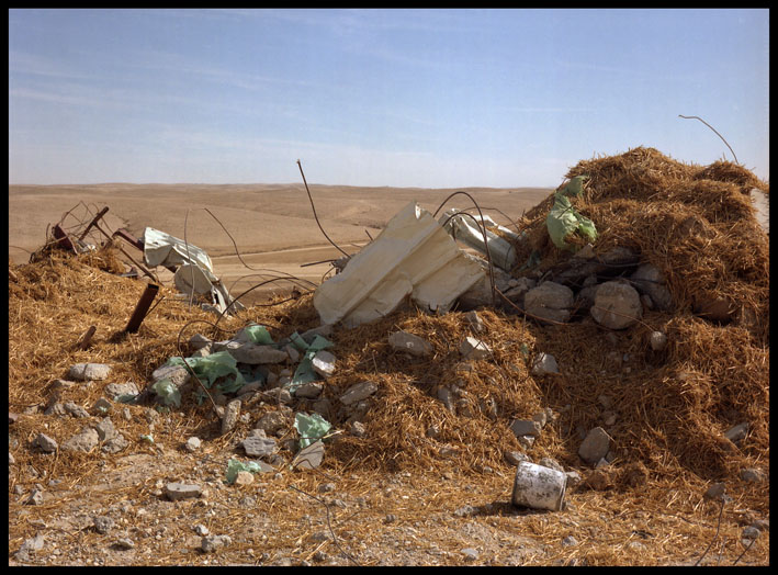 Mahmoud's straw bale mosque demolished