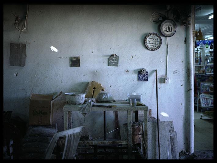 glass makers workshop, hebron, palestine