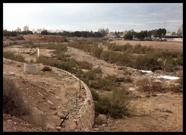 near Ramat Hovav: Israel's main hazardous waste facility