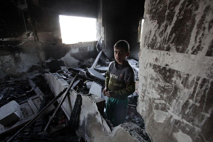 Abdallah a-Samuni, a-Zeitun neighborhood, Gaza