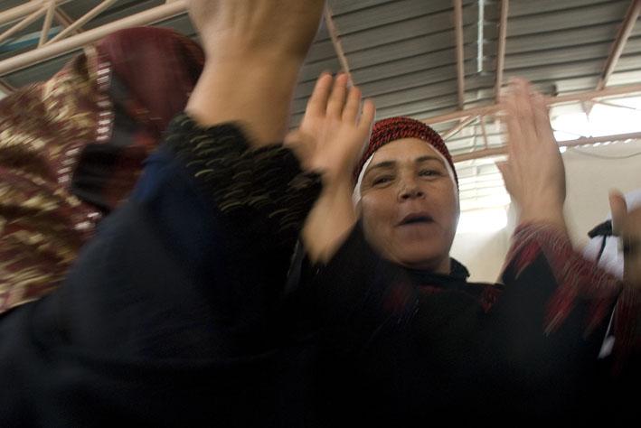 Dancing at Bonat Al Mustaqbal Association