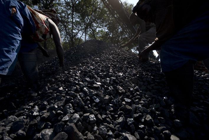 Coal mine, northern Malawi