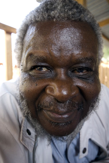 Kapote, a village elder, from Karonga, Malawi