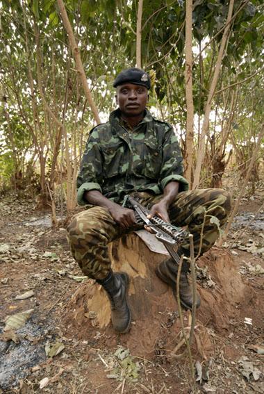 Soldier, Lilongwe, Malawi