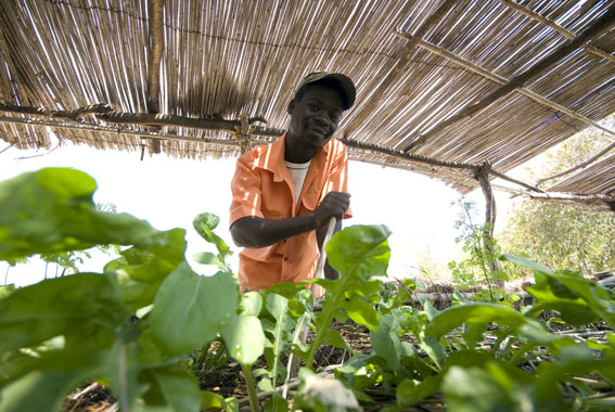 Emmanuel, Manda Wilderness Project Farm Manager