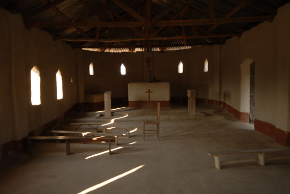 Church between Chicaia and Mataka