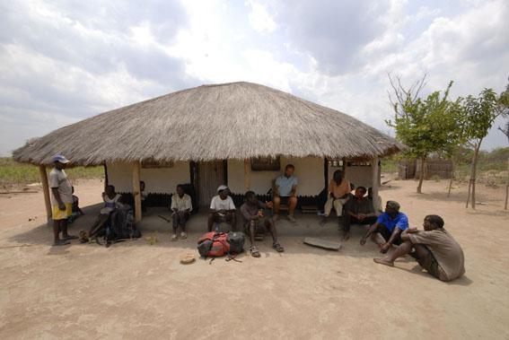 meeting in Mcondece village